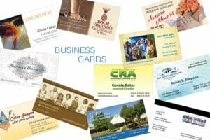 Business Cards to help a small business